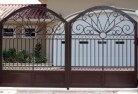 Auchmore Steel fencing 15